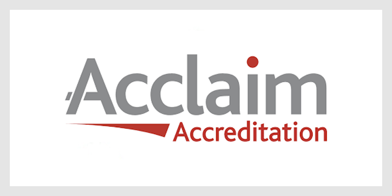 Acclaaim Accreditation